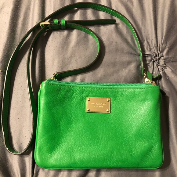 Michael Kors Handbags - Michael Kors Green Crossbody